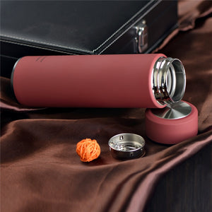 Insulated vacuum flasks With Tea Infuser - 500ml - The KindNest Collaborative