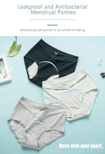 Leak-Proof Menstrual Panties (3 pc set) - The KindNest Collaborative