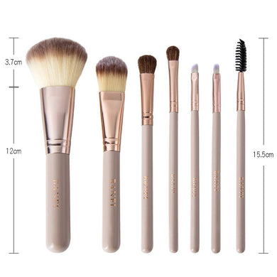 Makeup brushes - 7pcs/set - The KindNest Collaborative