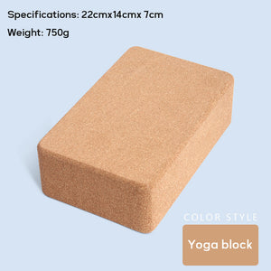 Natural Fitness Cork Mat - Non Slip Gymnastic Pad - 70 in - The KindNest Collaborative