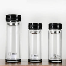 Crystal Water Bottle Flask Tea Infuser - The KindNest Collaborative