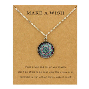 OM Lotus Necklaces - The KindNest Collaborative