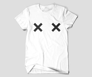 Unisex Cross Boobs The Nipple Tits T-Shirt - The KindNest Collaborative