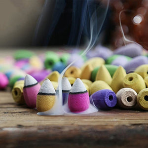 Smoke Incense Backflow Incense Cones 28/60/70pcs - The KindNest Collaborative