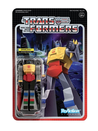 Transformers ReAction Wave 2 - Grimlock