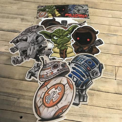 Jime Litwalk Droid sticker pack