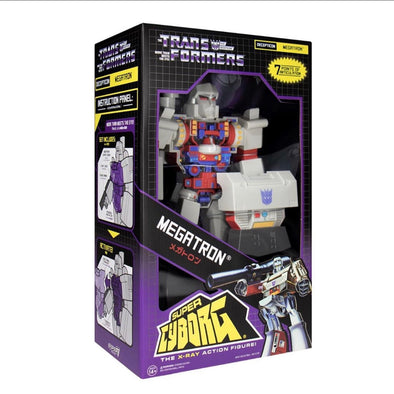 Megatron Super Cyborg Transformers Super Cyborg - Megatron (G1 Full Color)