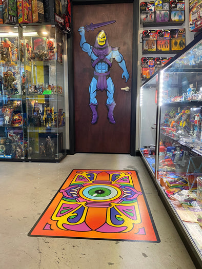 Trap Door floor decal