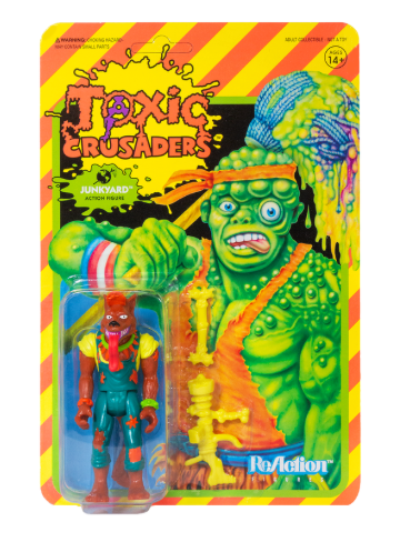 Toxic Crusaders ReAction Figure - Junkyard