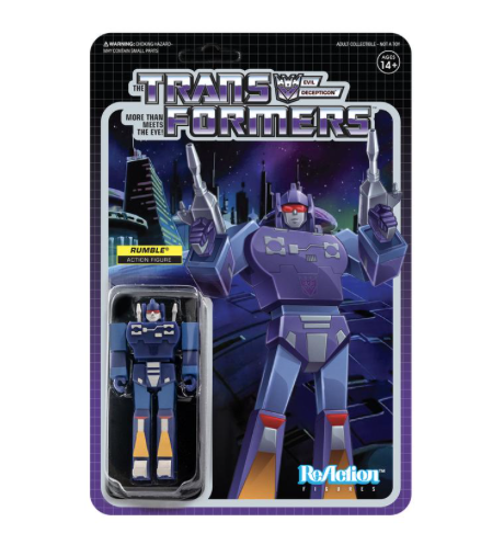 Transformers ReAction Wave 2 - Rumble