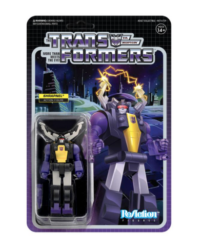 Transformers ReAction Wave 2 - Shrapnel
