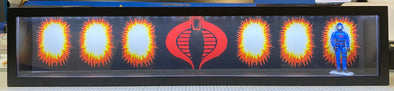 light up display backdrop cobra