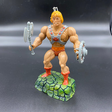 He-Man stands