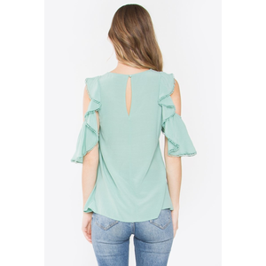 Wesley Ruffled Top