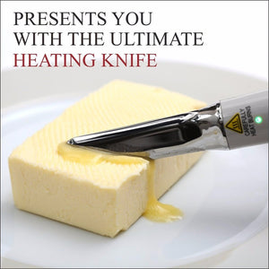 Self-heating Butter knife Cheese Heating Knife Convenient