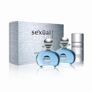Sexual Steel Pour Homme 3-Piece Gift Set