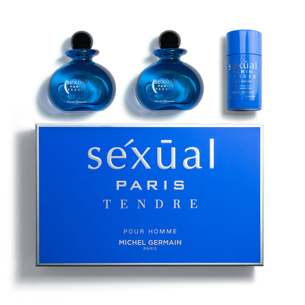 Sexual Paris Tendre Pour Homme 3-Piece Gift Set (Value $205)