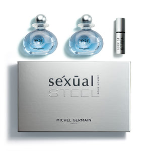 Sexual Steel Pour Homme 3-Piece Gift Set (Value $205)