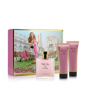 With Love From Paris 3 Piece Gift Set (Value $155)