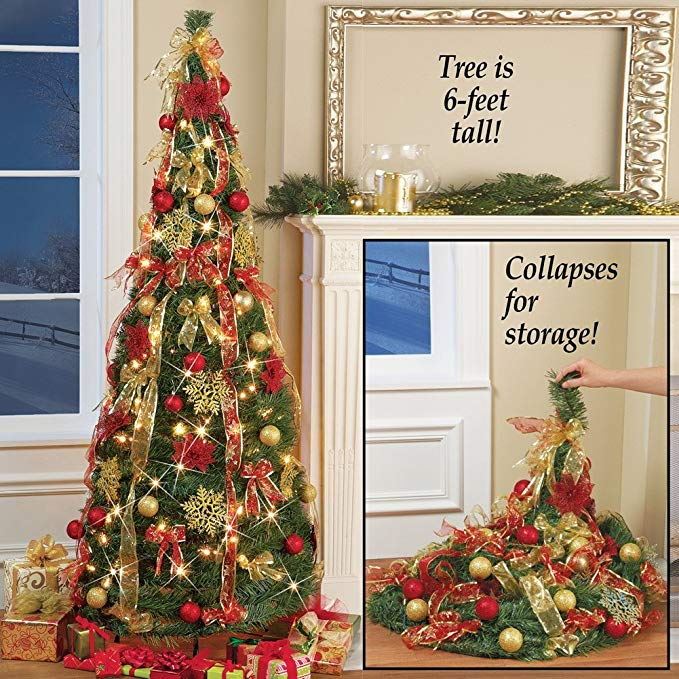 Flat To Fabulous Pop up pull up Christmas tree