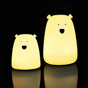 Soft Bear Silicone Light - USB Charging