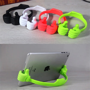 Adjustable Thumbs Stand Holder Mount For Phones & Tablets