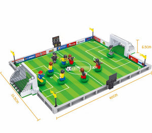 3D Football Field Mini Model Building Blocks Puzzle Toy - Shoplist