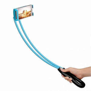 Flexible support for smartphones and tablets