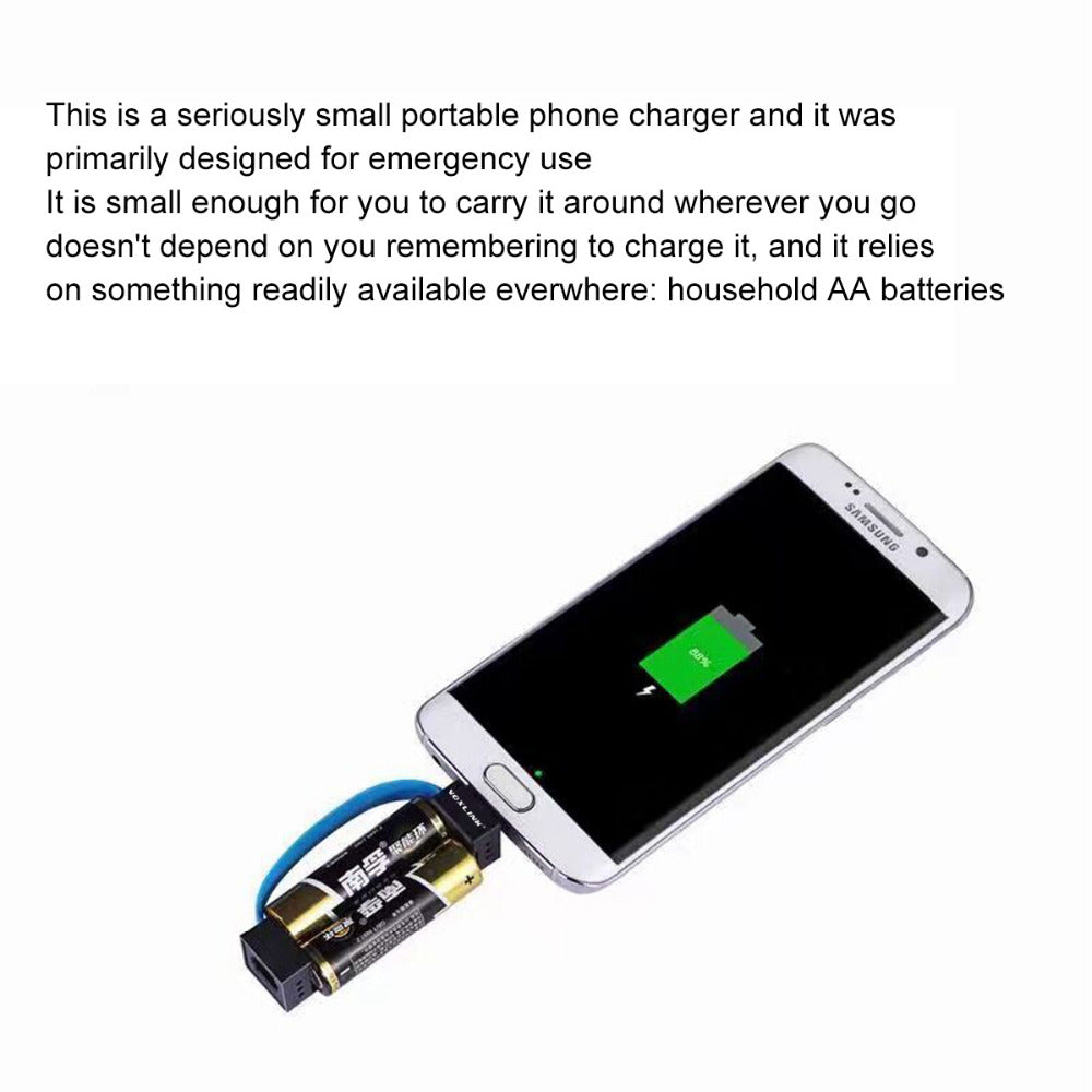Smallest Emergency Charger