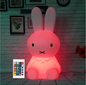 Nightlight Rabbit Lamp With Remote Control