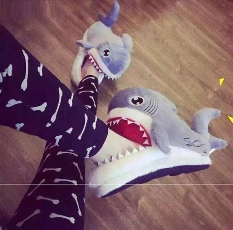 Slippers Shark For Men and Women - Shoplist
