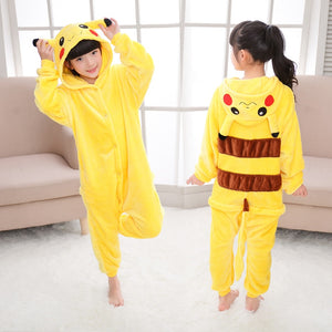 Pajamas Soft Flannel Animal For Kids