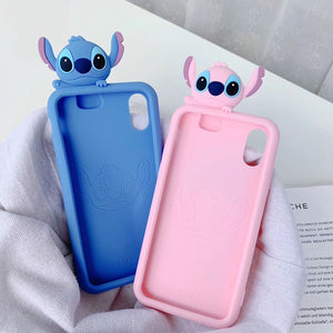 Luxury cute 3D Stitch Case For Iphone - Shoplist