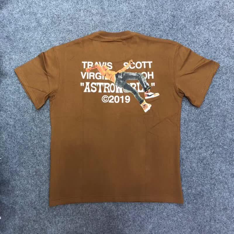 Virgil Abloh By A Thread Brown Tee Shirt