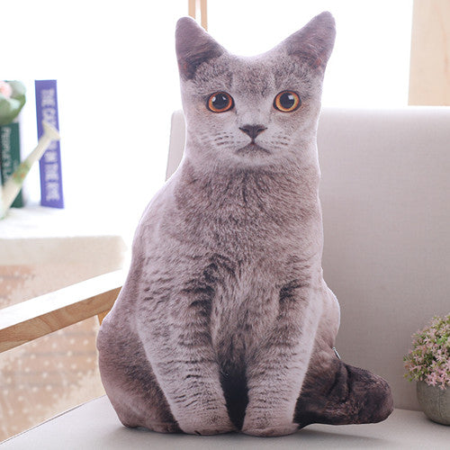 Plush cat pillow - Shoplist