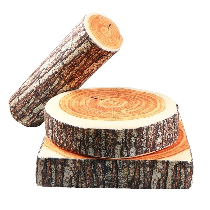Wooden Log Pillow