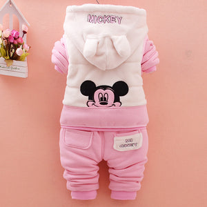 Cute cartoon patterned set