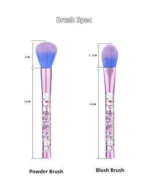 AquaBrush: Liquid Make Up Brushes (7 pieces)