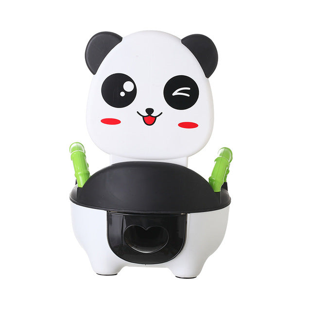 Baby Toilet Panda Training