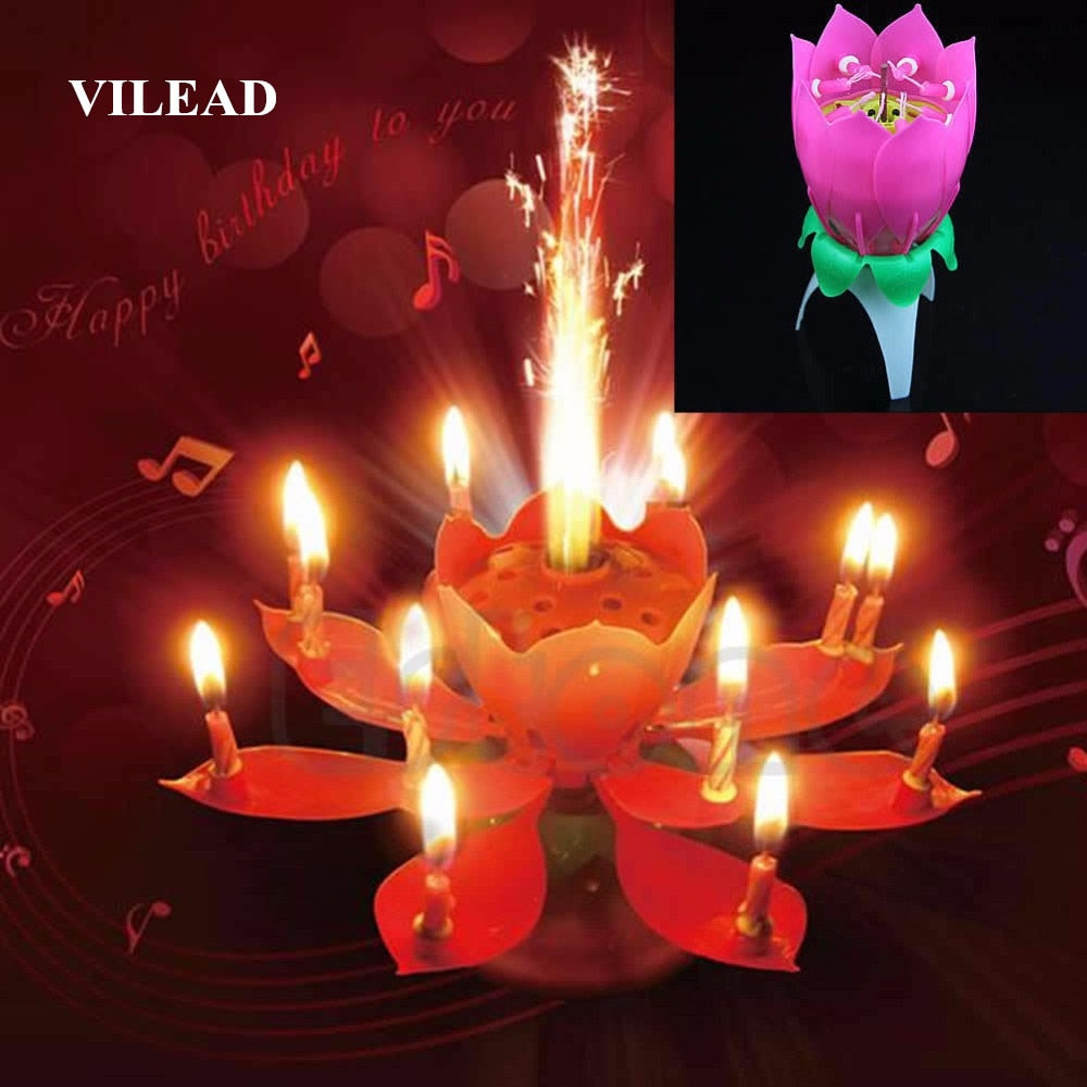 Birthday candle-flower - Shoplist