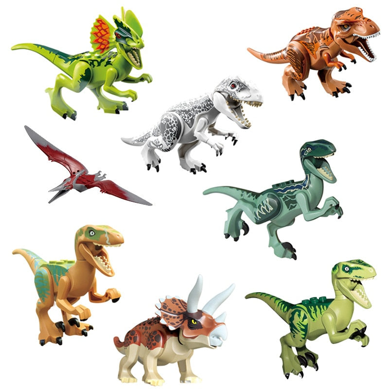Jurassic Dinosaurs Building Blocks (8Pcs) - Shoplist