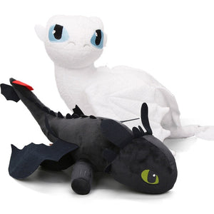 Furry Dragon Plush Toy (2pcs )