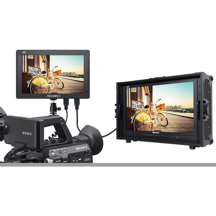 Feelworld FH7 7-Inch Field Monitor IPS Full HD On-camera Monitor for DSLRs and Camcorders