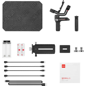 US ONLY | Zhiyun WEEBILL S 3-Axis Gimbal Stabilizer for DSLR & Mirrorless Cameras
