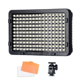 Tolifo PT-176S LED Video Camera Photography Light Panel for DSLR and Camcorder Studio Lighting