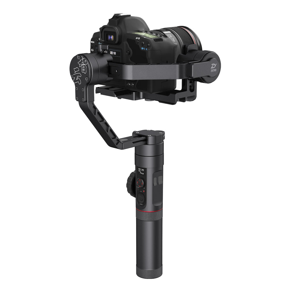 Zhiyun Crane-2 Professional 3 Axis Handheld Gimbal Stabilizer with Follow Focus for DSLR Cameras up to 3.2 KG