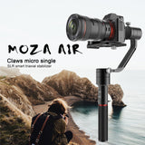MOZA Air 3-Axis Handheld Gimbal Stabilizer with Thumb Controller for DSLRs and Mirrorless Cameras up to 3.2KG / 5.5lb.