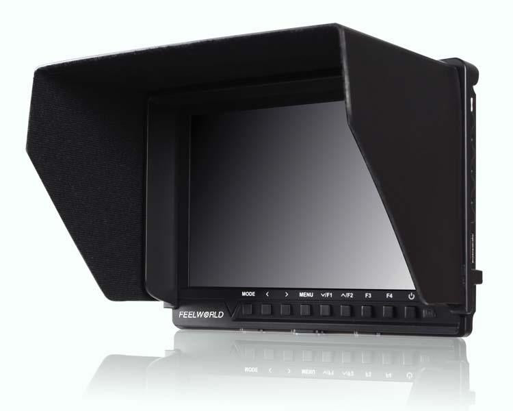 Feelworld FW760 7-inch Field Monitor Full HD Video On Camera Monitor