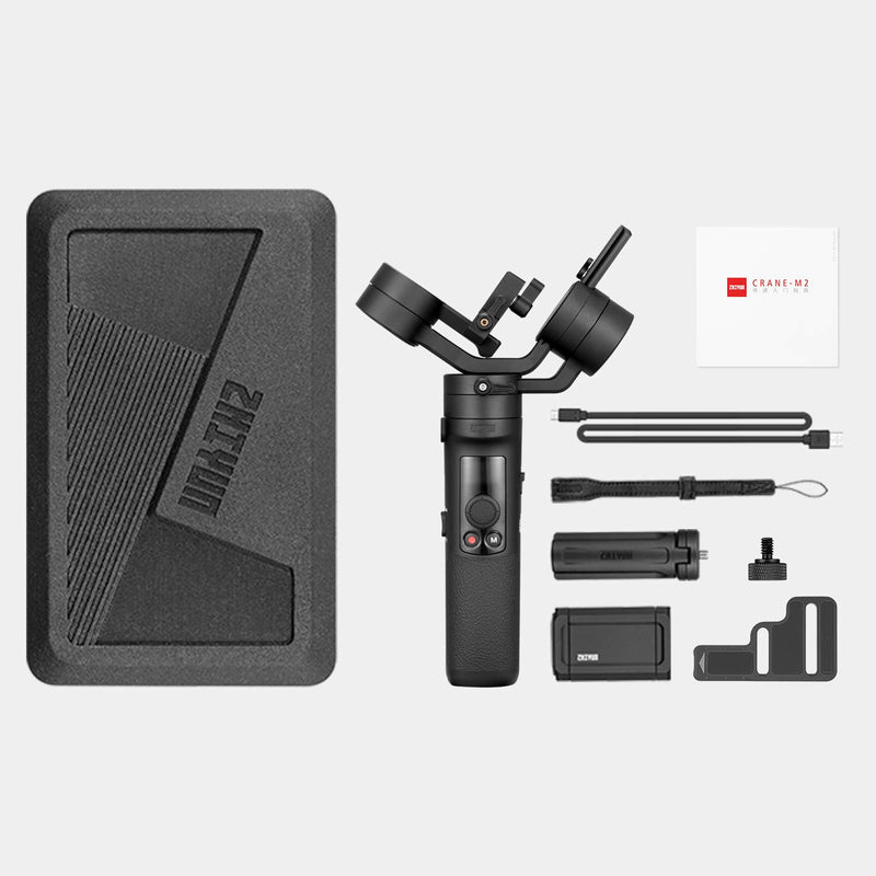 [NEW RELEASE] Zhiyun Crane-M2 Handheld 3-Axis Gimbal Stabilizer