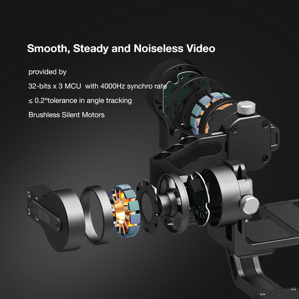 Zhiyun Crane V2 3 Axis Handheld Gimbal Stabilizer for Mirrorless and DSLR Camera
